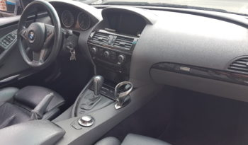 BMW SERIE 6 CABRIOLET 645 CI V8 333 CH plein