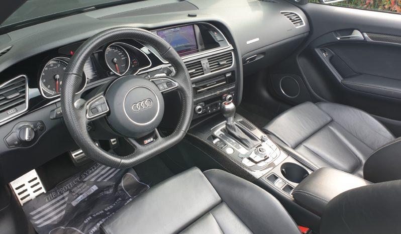 AUDI RS5 CABRIOLET V8 4.2 FSI 450 CH QUATTRO S-TRONIC plein
