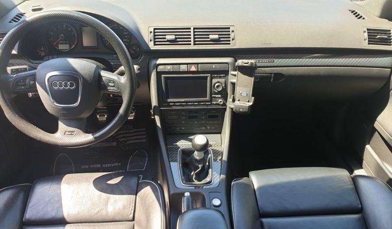 AUDI RS4 B7 BERLINE V8 4.2 FSI 420 QUATTRO plein